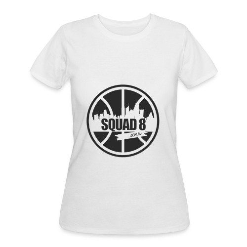 Women Squad 8 50/50 t-shirt heather black - Women's 50/50 T-Shirt