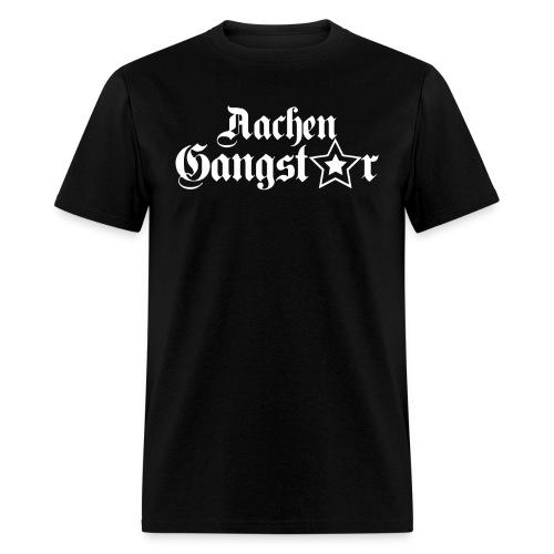Aachen Gangster Black - Men's T-Shirt