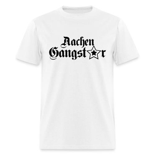 Aachen Gangster White - Men's T-Shirt
