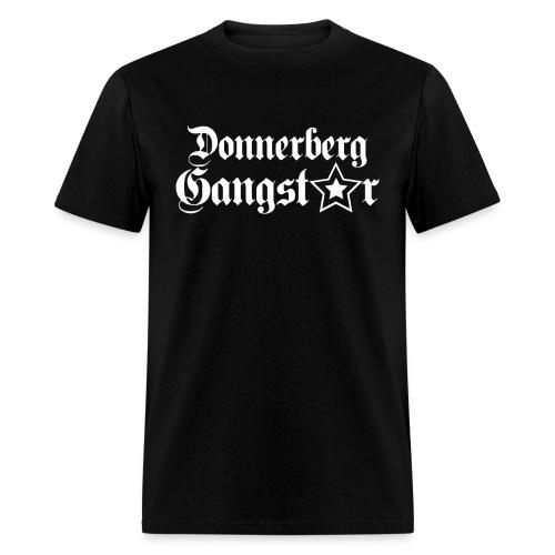 Donnerberg Gangster Black - Men's T-Shirt