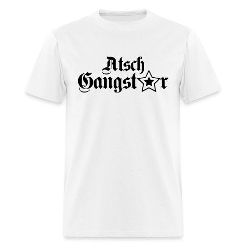 Atsch Gangster White - Men's T-Shirt