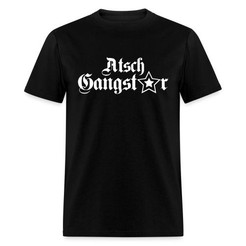Atsch Gangster Black - Men's T-Shirt