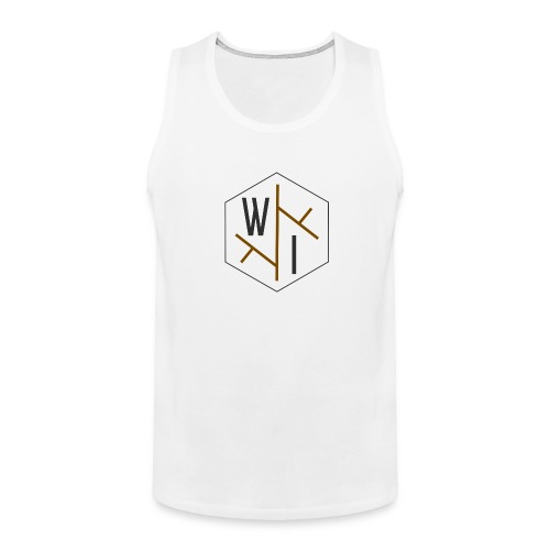 Men's Tank Top // Coloured Logo - Men's Premium Tank