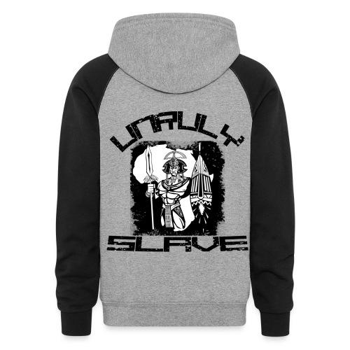 unruly slave hoodie - Colorblock Hoodie