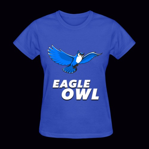 Women's Eagle Owl New Look T-shirt! - Women's T-Shirt