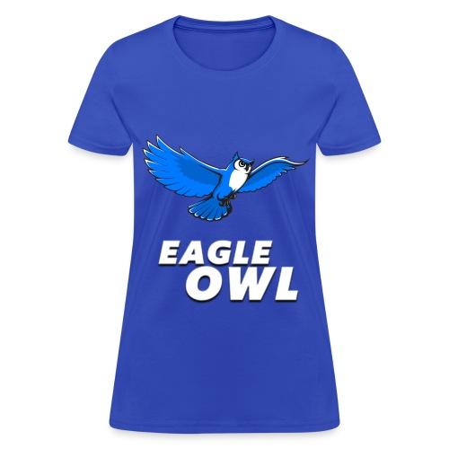 Women's Eagle Owl New Look T-shirt! - Women's T-Shirt