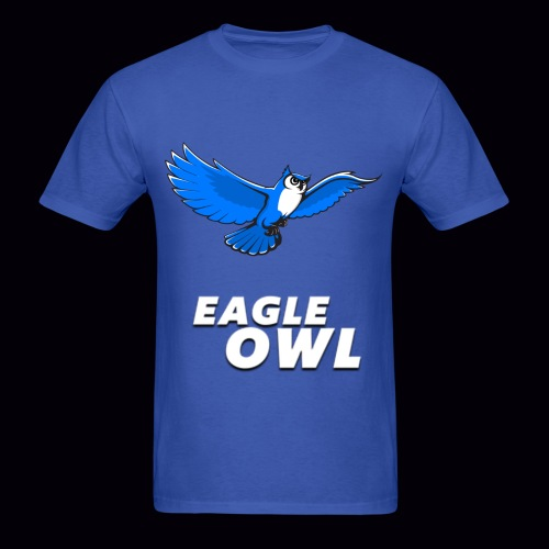 Mens's Eagle Owl New Look T-shirt! - Men's T-Shirt
