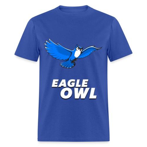 Mens's Eagle Owl New Look T-shirt! - Men's T-Shirt