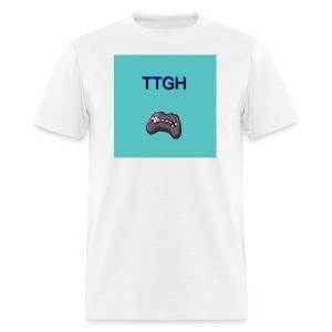 TTGH Male White Shirt - Men's T-Shirt