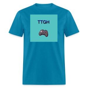 TTGH Blue Male Shirt - Men's T-Shirt