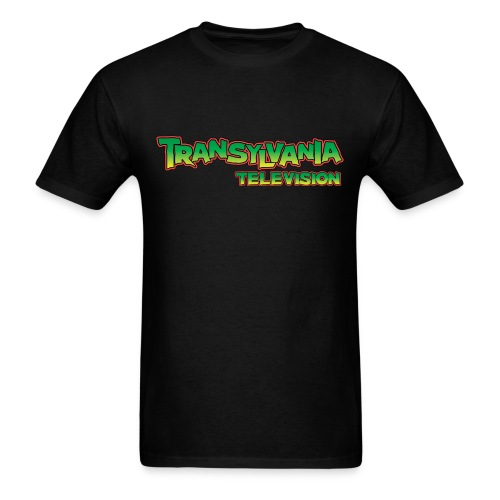 TVTV Full Color Monster Logo - Men's T-Shirt
