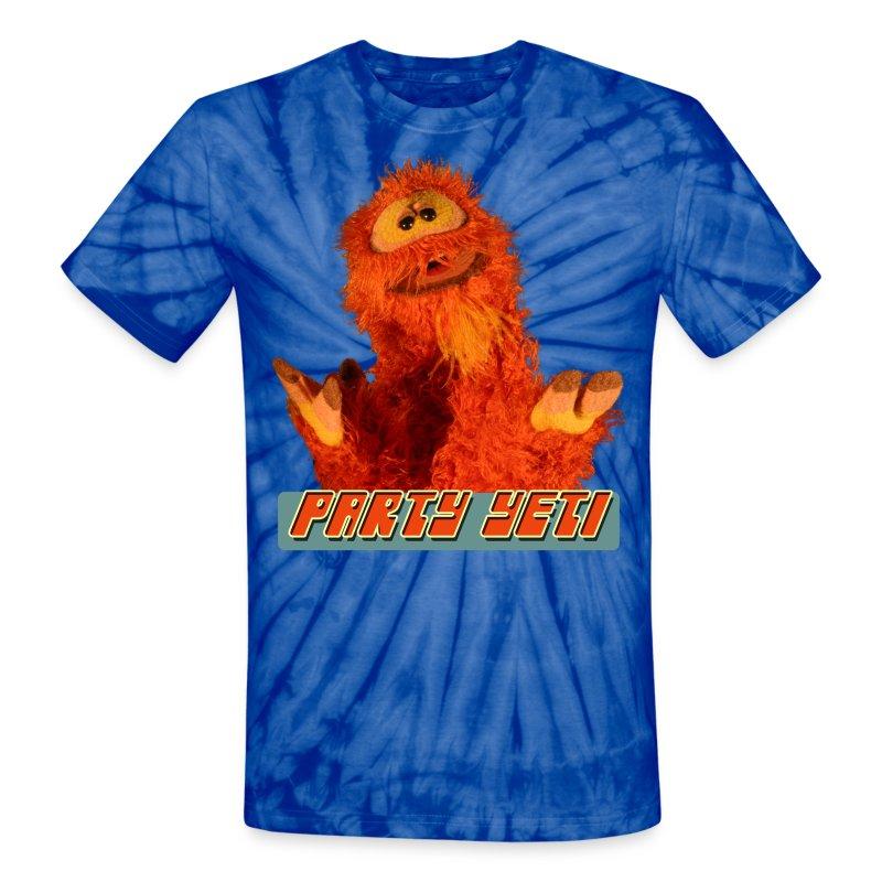 Party Yeti - Unisex Tie Dye T-Shirt