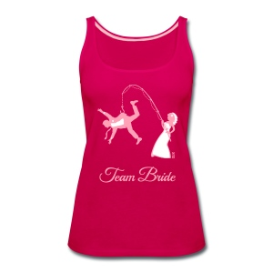Team Bride Husband Fishing (Hen Party 2C) Tanks - Women's Premium Tank Top
