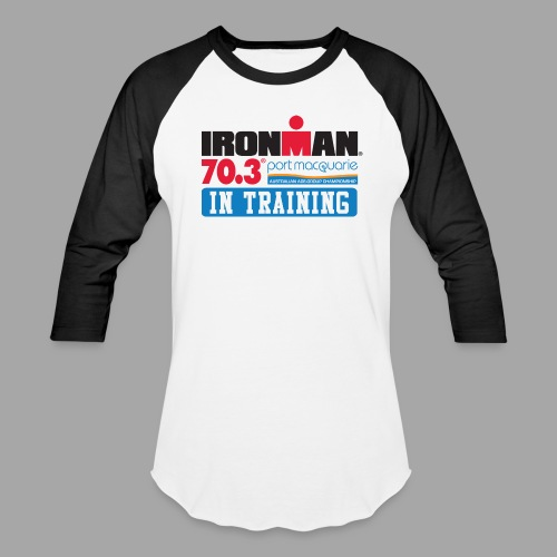 IRONMAN 70.3 Port Macquarie In Training Men's Baseball T-shirt - Baseball T-Shirt