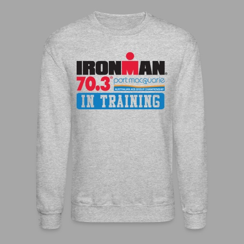 IRONMAN 70.3 Port Macquarie In Training Men's Crewneck Sweatshirt - Crewneck Sweatshirt