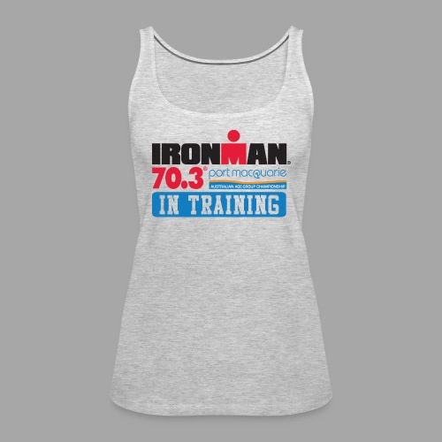 IRONMAN 70.3 Port Macquarie In Training Women's Tank Top - Women's Premium Tank Top