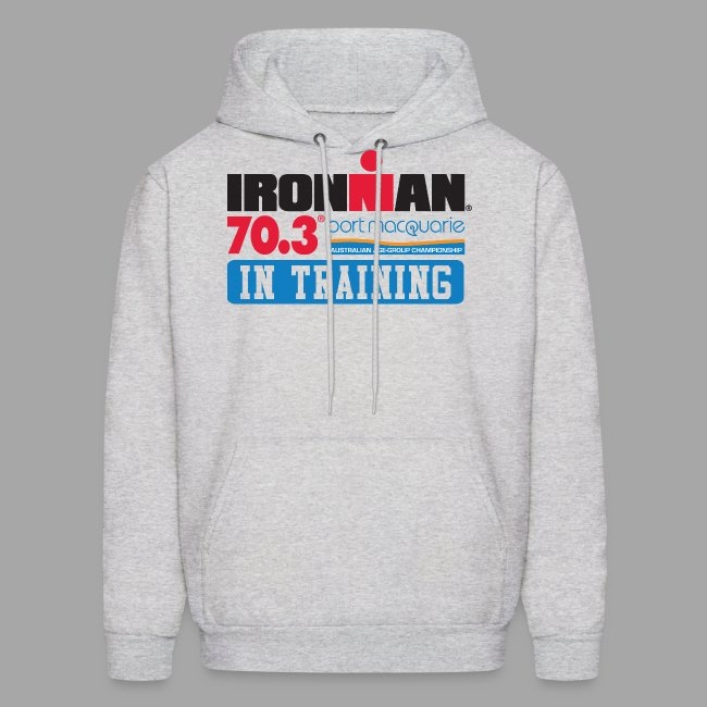 IRONMAN 70.3 Port Macquarie In Training Men's Hoodie