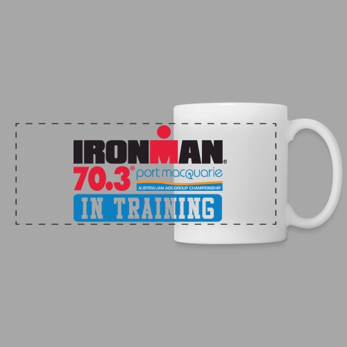 IRONMAN 70.3 Port Macquarie In Training Coffee Mug - Panoramic Mug