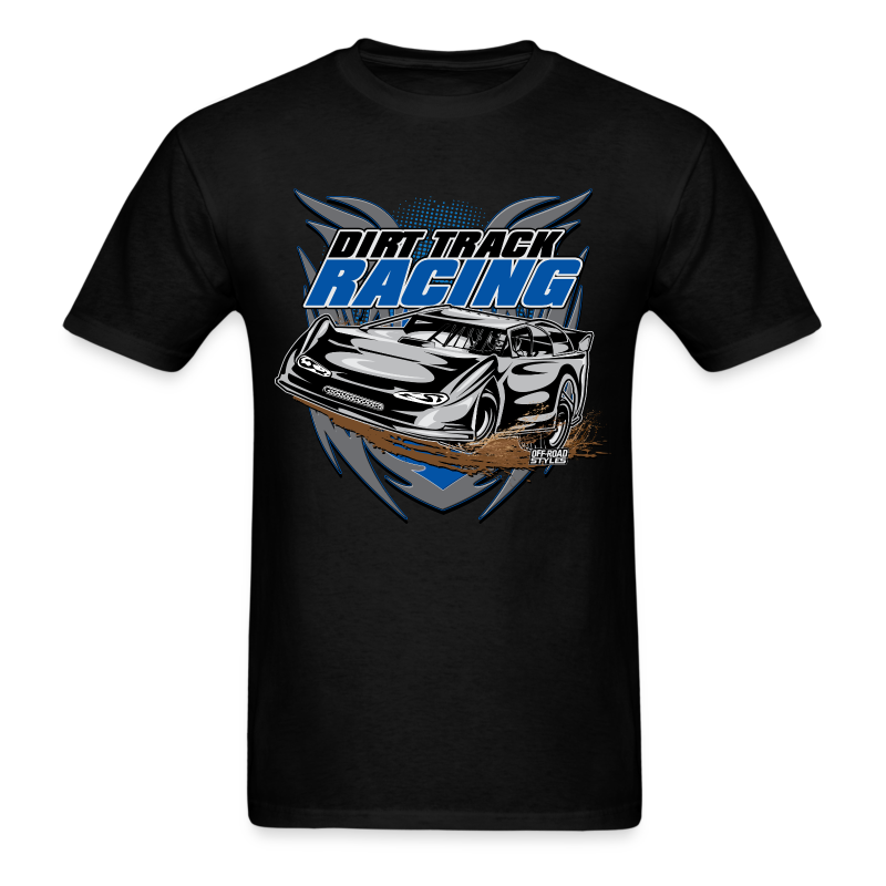 Dirt Track Modified Racer - Men's T-Shirt