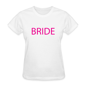 Bride Womens Short Sleeve Tee - Women's T-Shirt