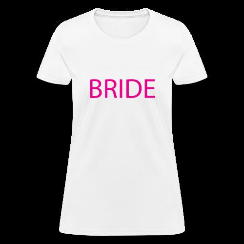 Bride Womens Short Sleeve Tee - Women's T-Shirt