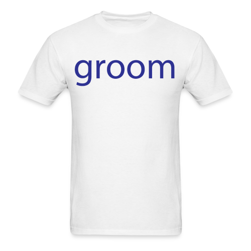 Groom Mens Short Sleeve Tee - Men's T-Shirt