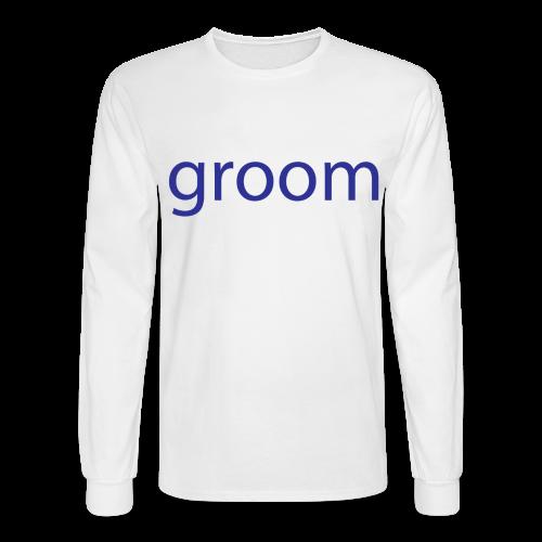 Groom Mens Long Sleeve Tee - Men's Long Sleeve T-Shirt