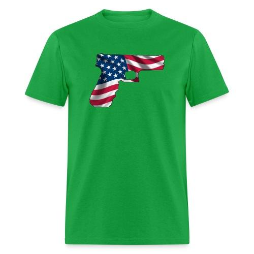 USA Gun Shirt - Men's T-Shirt