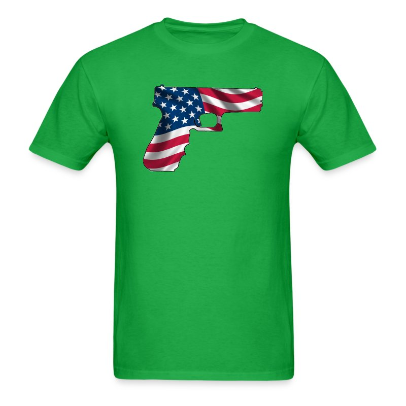 USA Gun Shirt - Men's T-Shirt