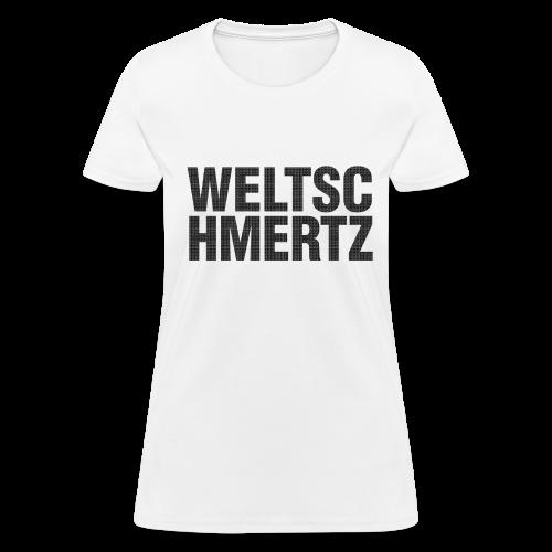 Weltschmertz Girls Tshirt (US) - Women's T-Shirt