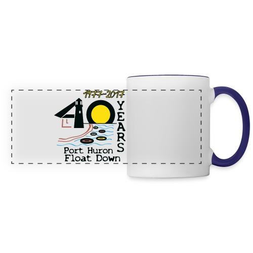 Port Huron Float Down 2017 - 40th Anniversary Coffee Mug - Panoramic Mug