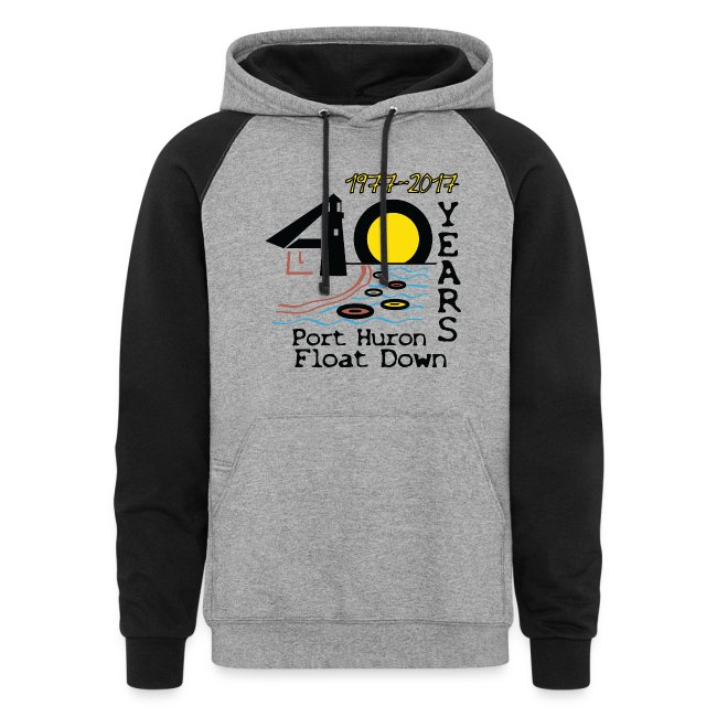 Port Huron Float Down 2017 - 40th Anniversary Hoodie