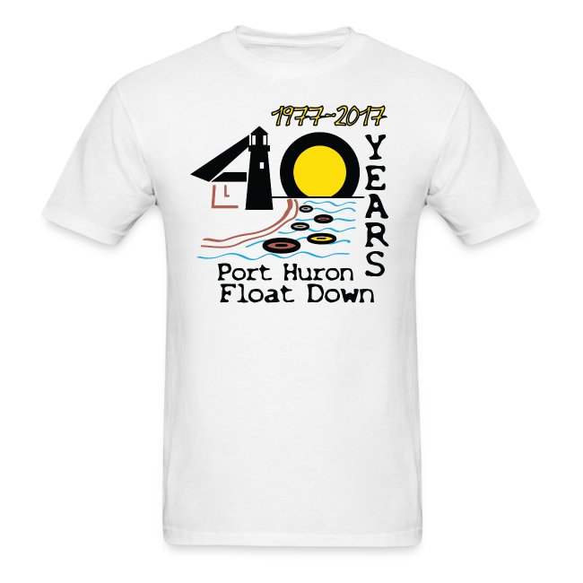 Port Huron Float Down 2017 - 40th Anniversary Shirt