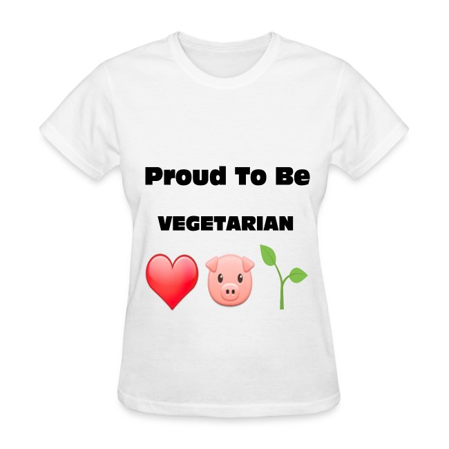 Proud to Be VEGETARIAN
