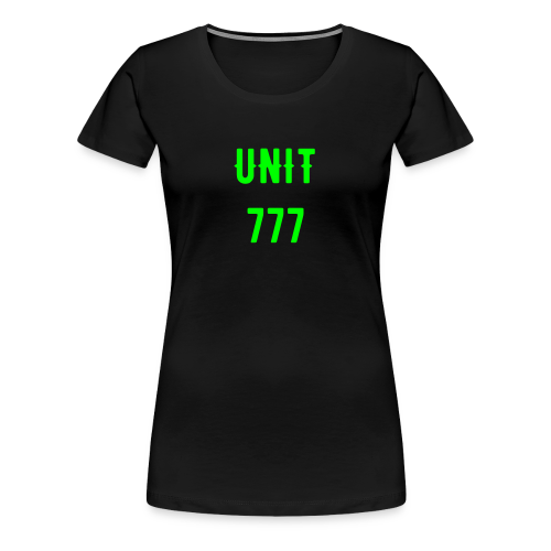 Women's 777 Shirt - Support the cause - Women's Premium T-Shirt