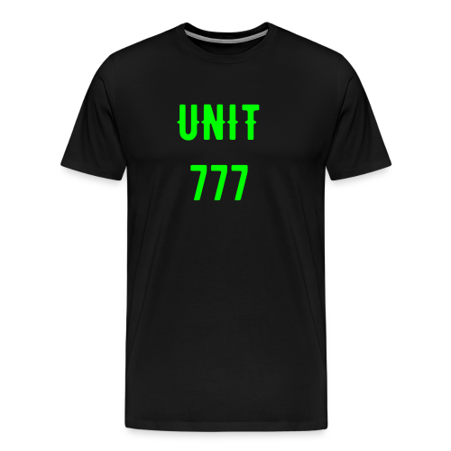 Men's 777 Shirt - Support the cause - Men's Premium T-Shirt
