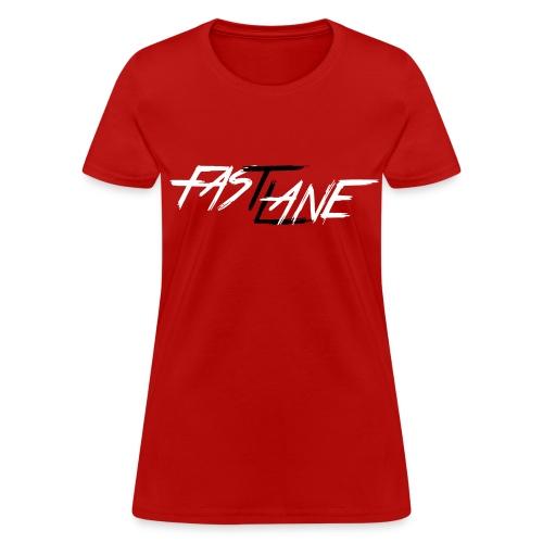 Fast Lane (W/B) - Women's T-Shirt