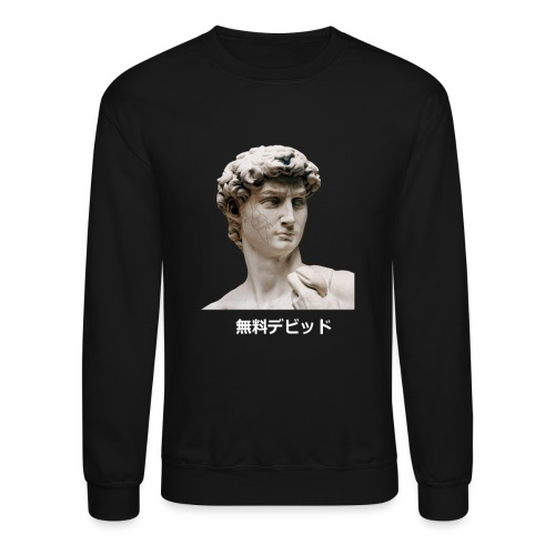 Free David no frame ( Crewneck Sweater) - Crewneck Sweatshirt