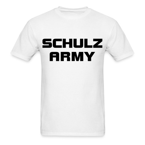 Schulz Army Men's Crew Neck T-Shirt - Men's T-Shirt