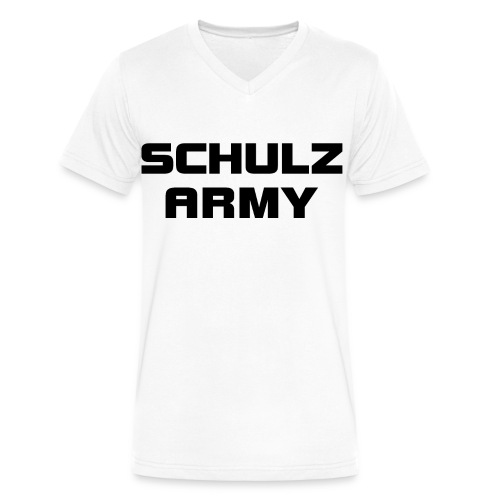 Schulz Army Men's V-Neck T-Shirt - Men's V-Neck T-Shirt by Canvas
