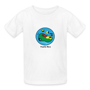 Colores de Puerto Rico - Kids' T-Shirt