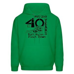 Port Huron Float Down 2017 - 40th Anniversary Hoodie - Men's Hoodie