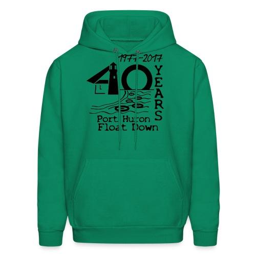 Port Huron Float Down 2017 - 40th Anniversary Hoodie - Men's Hoodie