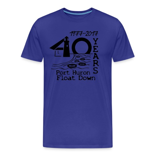 Port Huron Float Down 2017 - 40th Anniversary Shirt - Men's Premium T-Shirt