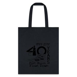 Port Huron Float Down 2017 - 40th Anniversary Tote - Tote Bag