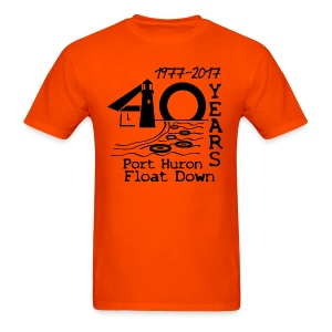 Port Huron Float Down 2017 - 40th Anniversary Shirt - Men's T-Shirt