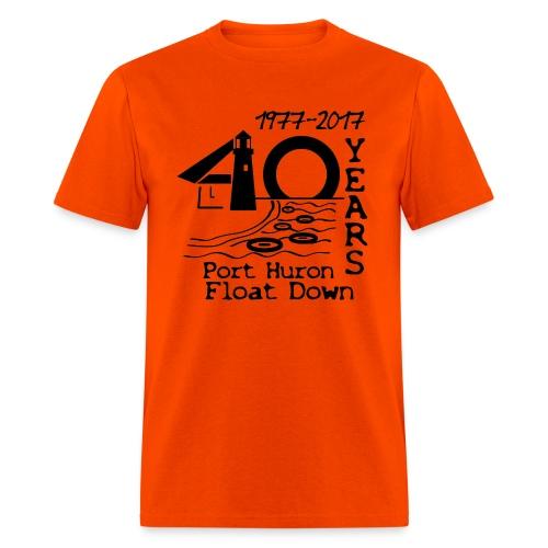 Port Huron Float Down 2017 - 40th Anniversary Shirt - Men's T-Shirt