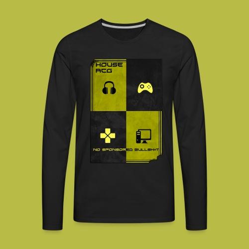ACG House Motto Long sleeve t - Men's Premium Long Sleeve T-Shirt