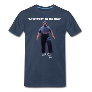 The Get on The Line Coach Tee - Men's Premium T-Shirt