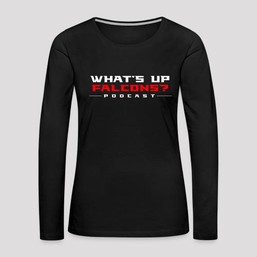 WUF // LS Ladies // - Women's Premium Long Sleeve T-Shirt